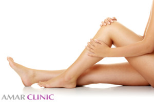 Liposuction in the ankles and calves in Marbella
